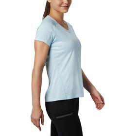 Columbia Zero Rules T shirt Femme, spring blue heather